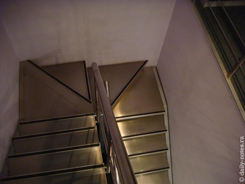 Лестница, вид сверху