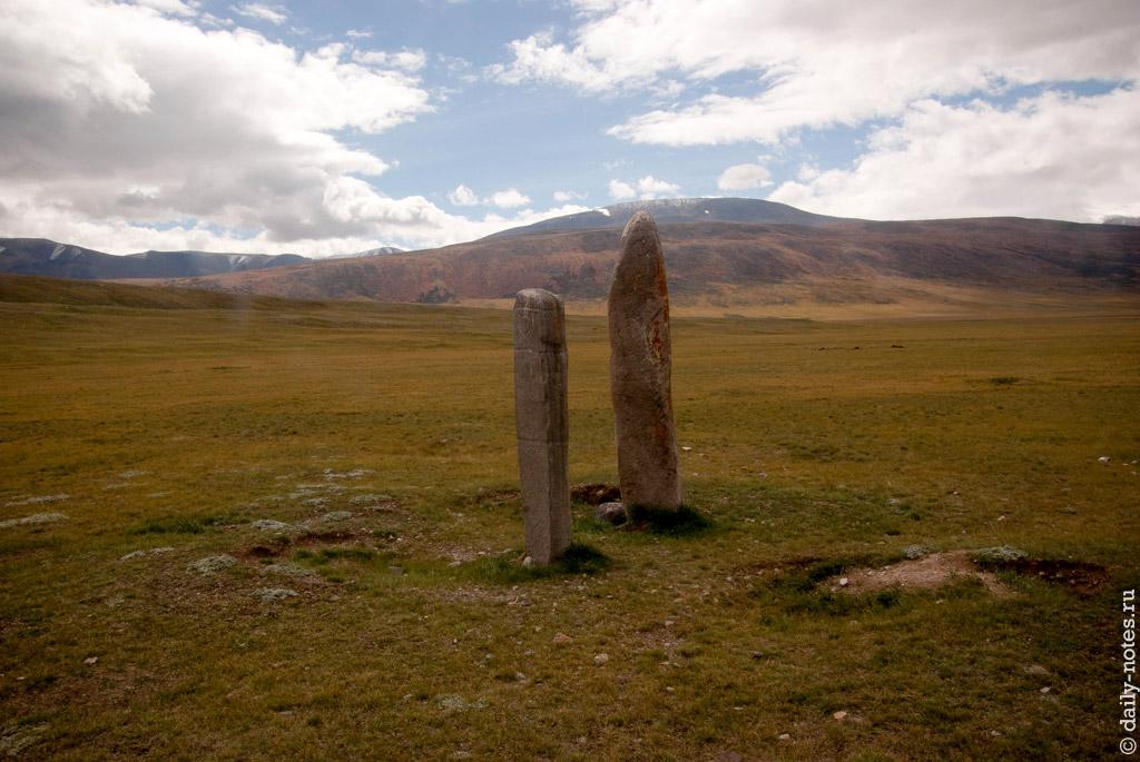 Каменные столбы на Укоке
