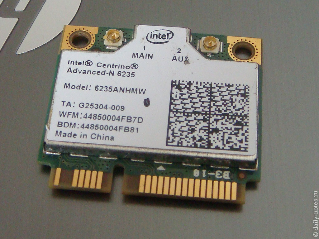 Intel 6235ANHMW